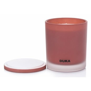 Świeca zapachowa sojowa Prosecco DUKA VALLMO 240 g czerwona