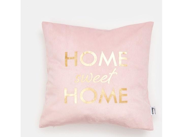 Sinsay - Poszewka na poduszkę - Różowy Poszewka dekoracyjna Kolor Szary Kwadratowe 40x40 cm Kategoria Poduszki i poszewki dekoracyjne