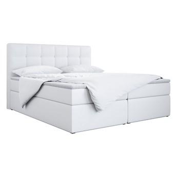 LUKA - Łóżko kontynentalne do sypialni z pojemnikami na pościel