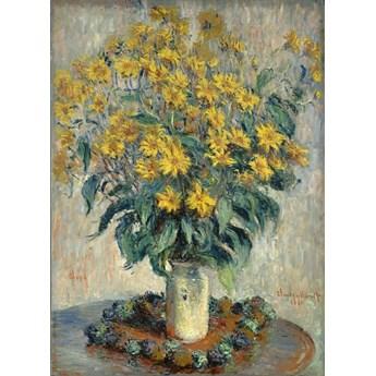 Reprodukcja Jerusalem Artichoke Flower, Claude Monet