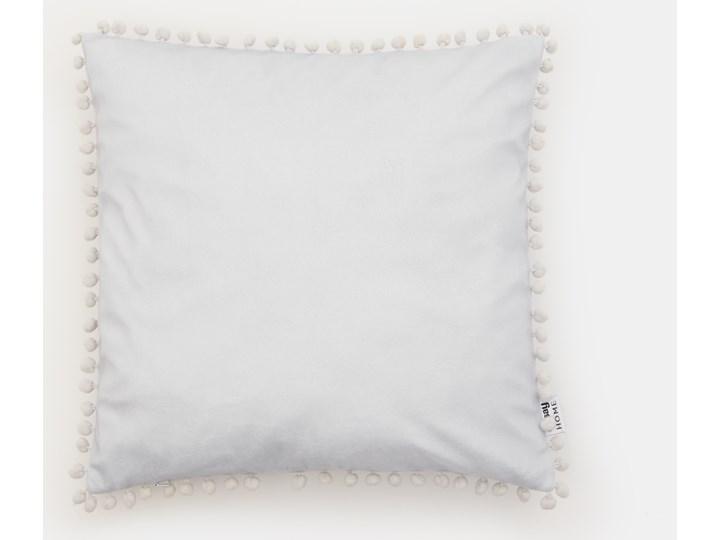 Sinsay - Poszewka na poduszkę - Jasny szary 40x40 cm Kategoria Poduszki i poszewki dekoracyjne Kwadratowe Poszewka dekoracyjna Pomieszczenie Salon
