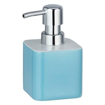 Niebieski ceramiczny dozownik do mydła Wenko Elmo