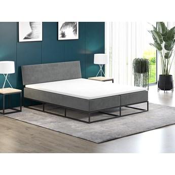 Łóżko tapicerowane 140x200 MODERNO metalowe