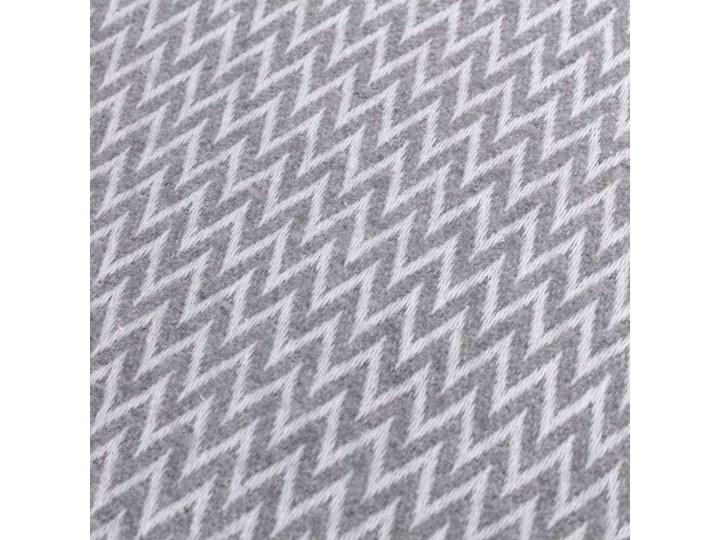 Pled Ibiza 140x200cm grey chevron, 140 x 200 cm Bawełna Poliester 140x200 cm 130x180 cm Akryl Pomieszczenie Salon