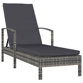 Leżak do ogrodu z podłokietnikami - Palmier