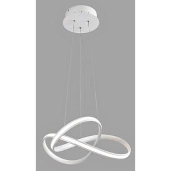 Biała lampa wisząca LED serpentyna - S008-Tinis