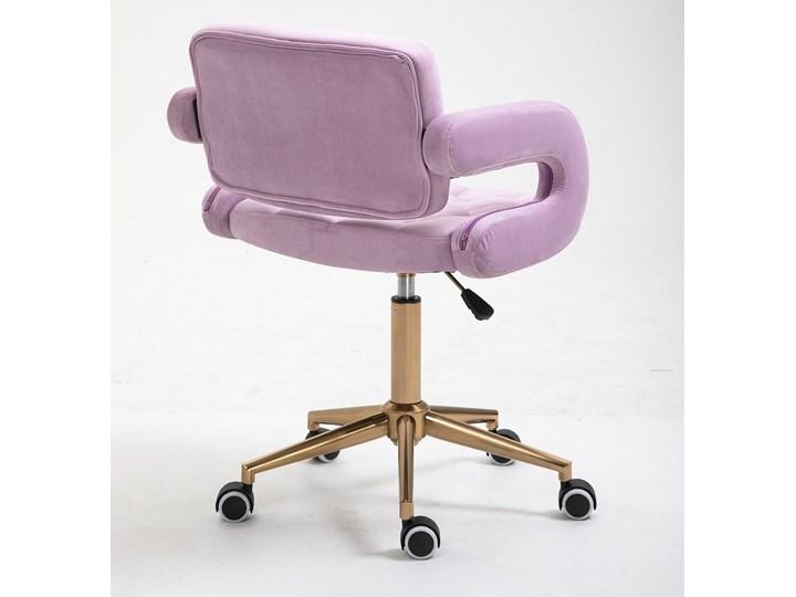 HOKER HR8403K WRZOSOWY WELUR ZŁOTA PODSTAWA Kategoria Krzesła kuchenne
