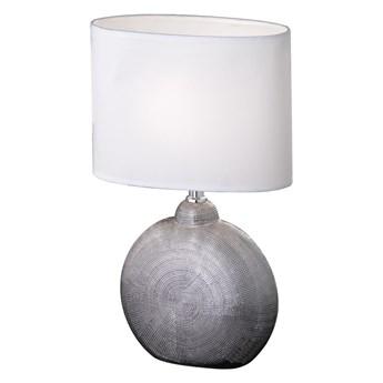 Biała lampa stołowa Fischer & Honsel Foro, wys. 36 cm