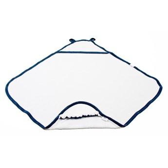 POOFI Bawełniany ręcznik z kapturkiem kolor: granatowy