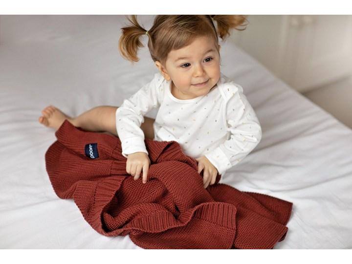 POOFI Kocyk tkany Classic Organic kolor: ciemny szary Bawełna Kategoria Koce i pledy