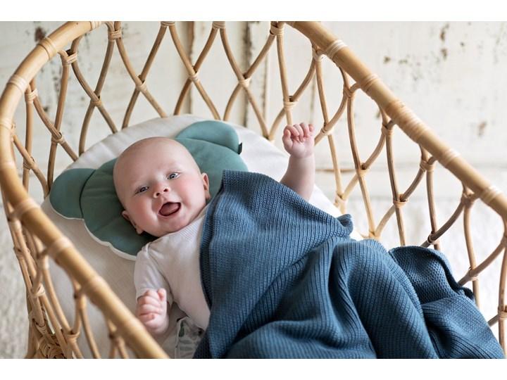 POOFI Kocyk tkany Classic Organic kolor: jasny szary Bawełna Kategoria Koce i pledy