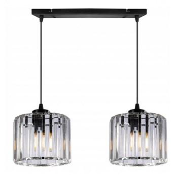 Klasyczna i Elegancka Lampa ze Szklanymi Kloszami