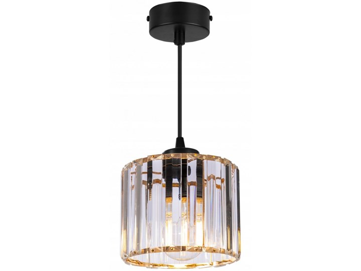 Regulowana Lampa Wisząca ze Szklanym Kloszem Szkło Lampa z kloszem Metal Funkcje Brak dodatkowych funkcji