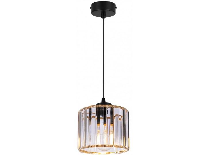 Regulowana Lampa Wisząca ze Szklanym Kloszem Kategoria Lampy wiszące Szkło Lampa z kloszem Metal Funkcje Brak dodatkowych funkcji