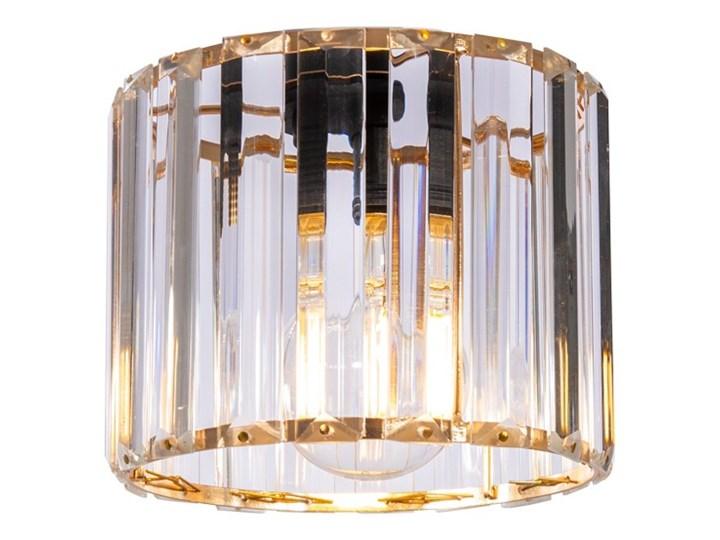Regulowana Lampa Wisząca ze Szklanym Kloszem Lampa z kloszem Metal Szkło Ilość źródeł światła 1 źródło