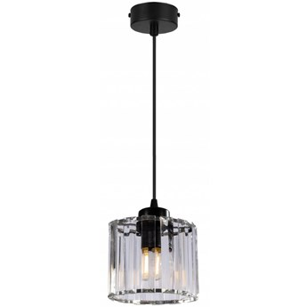 Pojedyncza Lampa Wisząca ze Szklanym Kloszem