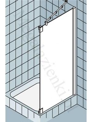 kermi pasa xp cianka boczna do drzwi wahad owych 1 skrzyd owych i pola sta ego profil srebrny. Black Bedroom Furniture Sets. Home Design Ideas