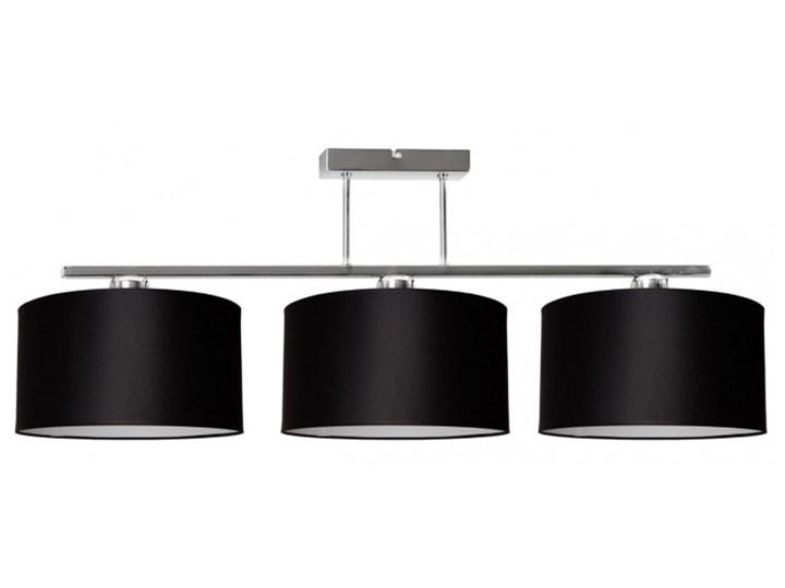 Nowoczesna Lampa z Abażurami Chrom Sufitowa Ilość źródeł światła 3 źródła Lampa z abażurem Metal Lampa z kloszem Kategoria Lampy wiszące