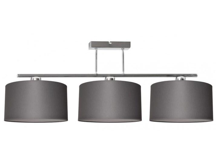 Nowoczesna Lampa z Abażurami Chrom Sufitowa Lampa z kloszem Lampa z abażurem Metal Funkcje Brak dodatkowych funkcji