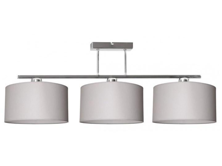 Nowoczesna Lampa z Abażurami Chrom Sufitowa Lampa z abażurem Styl Nowoczesny Lampa z kloszem Metal Styl Klasyczny
