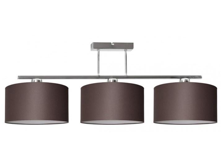 Nowoczesna Lampa z Abażurami Chrom Sufitowa Metal Styl Nowoczesny Lampa z abażurem Lampa z kloszem Styl Klasyczny