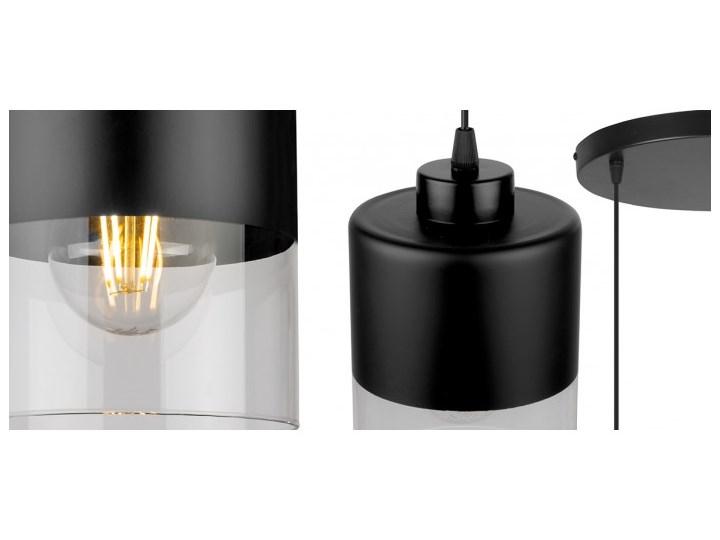 Lampa Wisząca Nowoczesna ze Szklanymi Kloszami z Metalu Lampa z kloszem Szkło Styl Nowoczesny