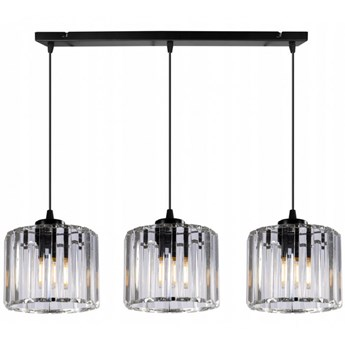 Elegancka Lampa Wisząca ze Szklanymi Kloszami LED