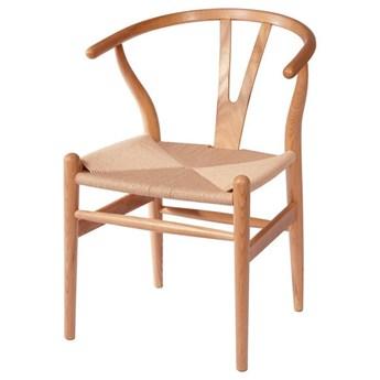 Krzesło Bonbon - naturalne, rattan, do salonu