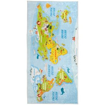 Dywan Dziecięcy Mapa 80 x 150 cm
