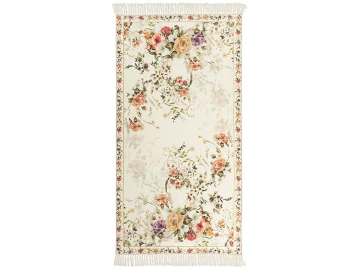 Dywan Sunshine Kwiaty Biały 80 x 150 cm 80x150 cm Dywany Pomieszczenie Kuchnia