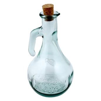 Butelka na ocet ze szkła z recyklingu Ego Dekor Di Vino, 500 ml
