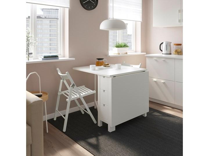 IKEA NORDEN / TERJE Stół i 2 składane krzesła, biały/biały, 26/89/152 cm Liczba krzeseł 2 krzesła Kategoria Stoły z krzesłami