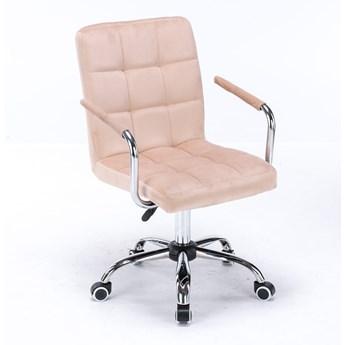 Krzesło obrotowe, biurowe HARRIS (SC-ZT1305) / welur beż