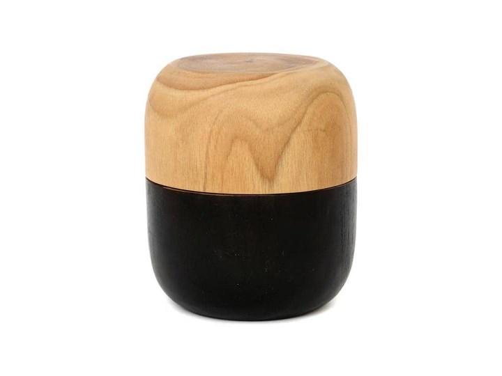 Pojemnik drewniany Bondi BAZAR BIZAR Poszewka dekoracyjna Bawełna 60x60 cm Kategoria Poduszki i poszewki dekoracyjne Wzór Roślinny