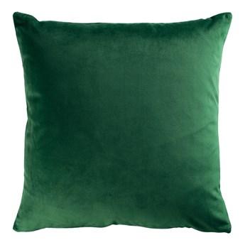 SELSEY Poduszka dekoracyjna Sylvanca w tkaninie EASY CLEAN 45x45 cm szmaragdowozielona
