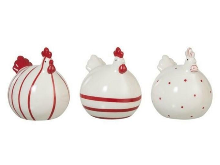 SELSEY Dekoracja Chick ozdobna figurka w kropki Ceramika Kategoria Figury i rzeźby