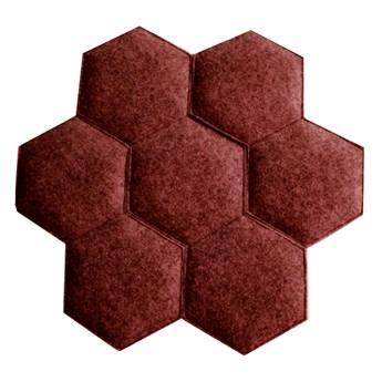 SELSEY Poduszka Plaster czerwony melanż