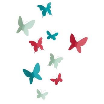 SELSEY Dekoracja ścienna Mariposa kolorowa