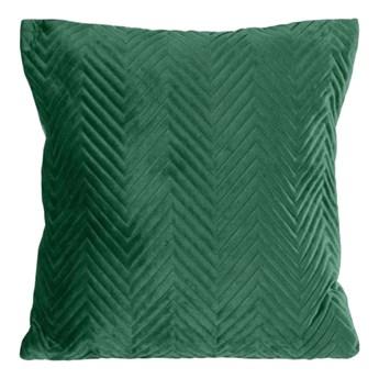 SELSEY Poszewka na poduszkę Hotory 45x45 cm ciemnozielona