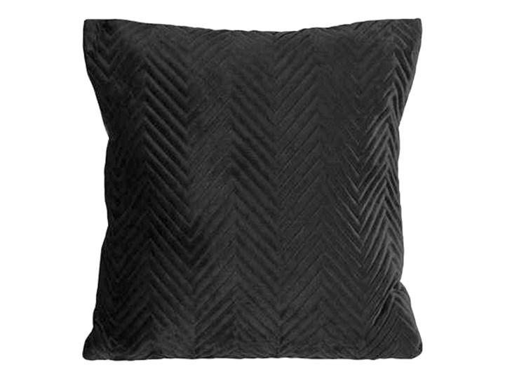 SELSEY Poszewka na poduszkę Hotory 45x45 cm czarna Poszewka dekoracyjna Poliester Kolor Czarny
