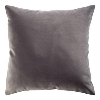 SELSEY Poduszka dekoracyjna Myrrhis w tkaninie PET FRIENDLY 45x45 cm ciemnoszara