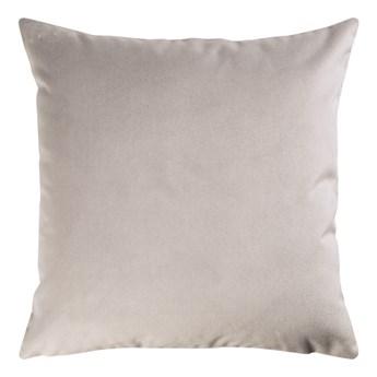 SELSEY Poduszka dekoracyjna Sylvanca w tkaninie EASY CLEAN 45x45 cm jasnoszara
