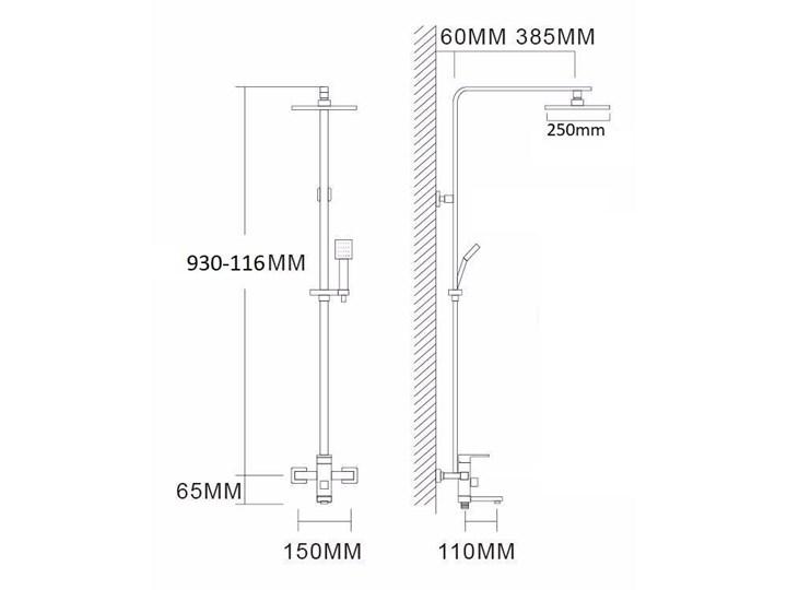 Srebrny chrom zestaw prysznicowy deszczownica Wyposażenie Z wężem Kategoria Zestawy prysznicowe