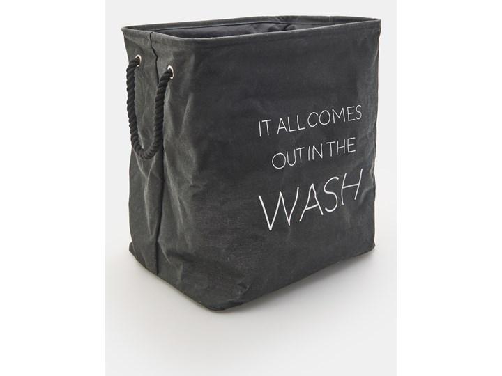 Sinsay - Kosz na pranie - Czarny Kategoria