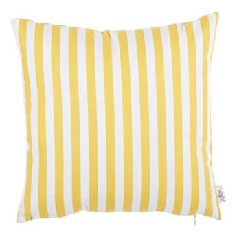 Żółta bawełniana poszewka na poduszkę Mike & Co. NEW YORK Tureno, 35x35 cm