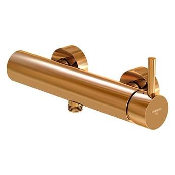 Bateria prysznicowa Steinberg Seria 100 1220, kolory, Różowe złoto
