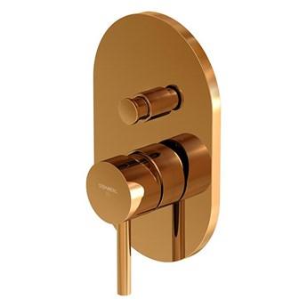 Bateria prysznicowa / wannowa Steinberg Seria 100 2103 3, element zewnętrzny, Różowe złoto