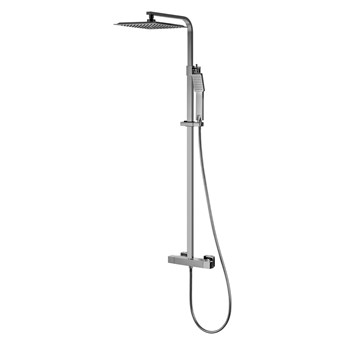 Kolumna prysznicowa Corsan Ango CMN018 z termostatem, Tworzywo
