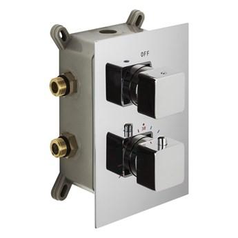 Prysznicowa bateria podtynkowa Corsan CMT01CH termostat