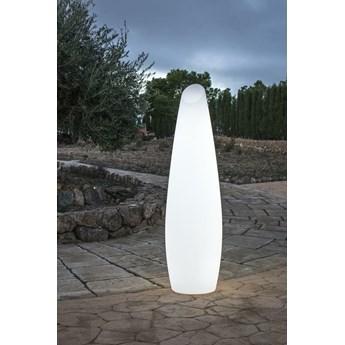 NEW GARDEN lampa ogrodowa FREDO 140 C biała - LED